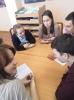 Участники литературно-интеллектуальной игры «Чемпионат читателей» в Центральной городской библиотеке