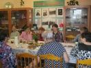 Встреча членов клуба общения «Сударушка» в библиотеке № 9 поселка Рудничный