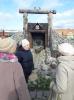 Участники клуба общения «Лебедушка» на выездном заседании в Краснотурьинском краеведческом музее