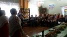 Участники встречи клуба общения «На огонёк», посвященной месячнику пожилого человека в библиотеке № 8