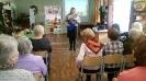 Встреча участников клуба общения «На огонёк», посвященная месячнику пожилого человека в библиотеке № 8