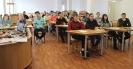 Участники Географического диктанта - 2019 в центральной городской библиотеке