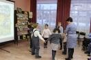 Участники познавательной программы «Самый уральский народ – манси» в рамках акции «Ночь искусств» в центральной детской библиотеке