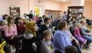 Участники акции «Ночь искусств» в центральной детской библиотеке