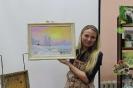 Подарок центральной детской библиотеке от ведущей мастер-класса, художницы Юлии Белоусовой