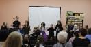 Участники театрального мастер-класса и творческой встречи со студентами актерского отделения Краснотурьинского колледжа искусств в центральной детской библиотеке