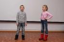 Юные участники квартирника Григорий и Ольга