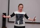Участница осеннего квартирника, руководитель поэтического клуба «Харизма» Лидия Кулиш