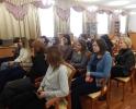 Студенты Краснотурьинского индустриального колледжа на творческой встрече с фотографом Вадимом Смальковым в центральной городской библиотеке