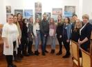 Участники и организаторы творческой встречи с фотографом Вадимом Смальковым в центральной городской библиотеке