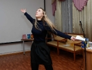 Участница молодежного поэтического баттла - 2019 София Корсакова. Фото: Дмитрий Кусков.