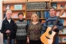 Артисты клубов «Дар» и «Перекат» на творческой встрече в центральной городской библиотеке