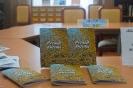 Подарок центральной городской библиотеке от руководителя музыкально-поэтического клуба «Дар» из города Серова Марины Демчук