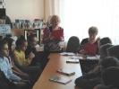Организаторы и участники акции «Читаем вместе», посвященной Дню Неизвестного солдата в Библиотеке № 10 (р-он Медная Шахта)