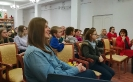 Зрители и участники презентации книги стихов молодой краснотурьинской поэтессы Владиславы Маурин