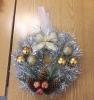 Мастер-класс по изготовлению рождественских венков в библиотеке № 2 поселка Воронцовка