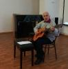Борис Оглоблин исполнил песню «Круговая порука добра»