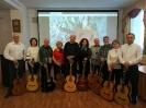 Участники концерта авторской песни «Жизнь - вращение зим и вёсен» в центральной городской библиотеке