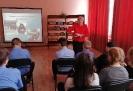 Урок памяти о блокадном Ленинграде для школьников в центральной детской библиотеке