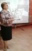 Библиотекарь Алефтина Шмачкова познакомила собравшихся с жизнью и творчеством композитора-фронтовика, историей создания песен