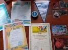 Спортивные награды Александра Федоровича Руш, читателя библиотеки № 8