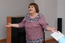Участница музыкально-поэтического видеоквартирника «Летние блики» Наталья Пауль
