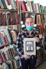 Читательница библиотеки № 2 поселка Воронцовка Любовь Шабанова
