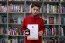 Евгений Пастух, читатель и волонтер центральной городской библиотеки