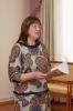Елена Камнева, участница музыкально-поэтического квартирника «Расплескалось злато сентября…» в центральной городской библиотеке
