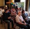 Участники встречи с представителями Свердловской областной специальной библиотеки для слепых в Краснотурьинском краеведческом музее