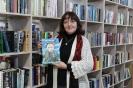 Елена Вострецова, читательница центральной городской библиотеки