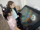 Юные посетители медиазала центральной городской библиотеки