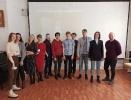 Участники проектно-просветительского семинара «Снежнотурьинск» в центральной городской библиотеке