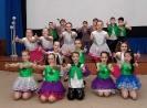 Танцевальный коллектив городского дворца культуры на празднике открытия Недели детской книги