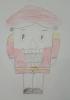 Костромина Мария, 3 место в конкурсе детских рисунков «Мы читаем и рисуем» (возрастная группа 5-7 лет)