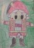 Шестакова Ольга, 1 место в конкурсе детских рисунков «Мы читаем и рисуем» (возрастная группа 5-7 лет)