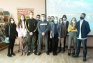 Одиннадцатиклассники школы № 24 - участники онлайн-мастер-классов «Моя финансовая жизнь» в центральной детской библиотеке
