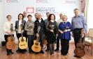 Участники концерта бардовской песни «Это время называется весна…» в центральной городской библиотеке