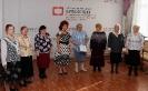Вокальный ансамбль «Зоренька», участники мартовского музыкально-поэтического квартирника в центральной городской библиотеке