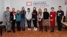 Участники и организаторы Тотального диктанта - 2021 в центральной городской библиотеке