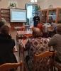Участники Тотального диктанта - 2021 в библиотеке № 9 поселка Рудничный