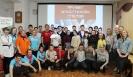 Участники первого Слёта волонтёрских объединений города Краснотурьинска в центральной городской библиотеке