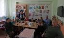 Участники праздника, посвященного Международному дню защиты детей, в библиотеке № 6 поселка Чернореченск
