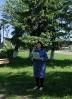 Жительница поселка Чернореченск и давний друг библиотеки Лия Липарина прочитала участникам праздника свои стихи, посвященные детям