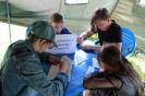 Участники мастер-класса по написанию фронтового письма «Письмо солдату»