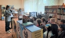 Участники виртуального познавательного маршрута по известным местам района Медная Шахта