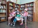 Участники литературной квест-игры «По следам Винни-Пуха» в библиотеке № 2