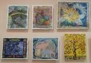 Выставка творческих работ «Удивительный мир» в центральной детской библиотеке