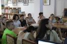 Участники молодёжной тусовки «Legal`no» в центральной городской библиотеке