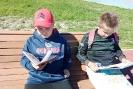 Участники летних мероприятий библиотеки № 8 на набережной Заречного района города